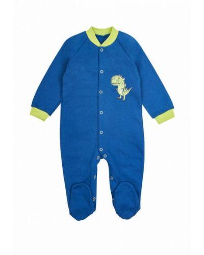 Комбинезон текстильный синий фламинго текстиль