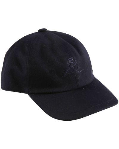 Niebieska czapka Loro Piana