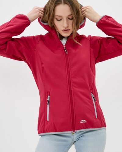Красная куртка Trespass