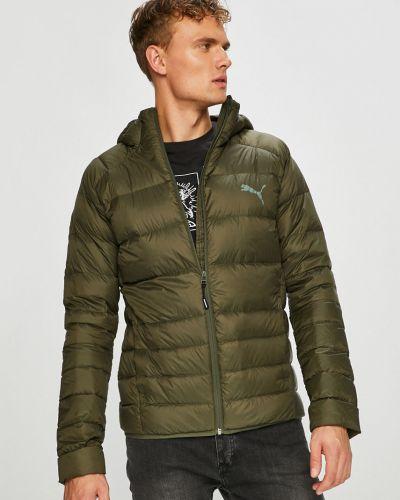 Утепленная куртка с капюшоном стеганая Puma