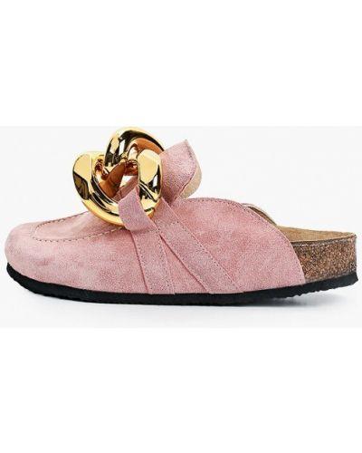 Розовые сабо Grand Style
