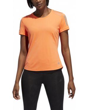 Polo - pomarańczowa Adidas