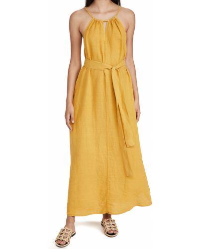Текстильное платье с декольте Velvet