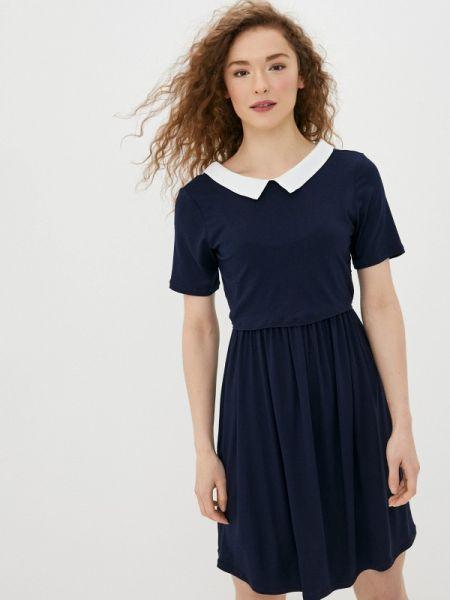 Платье прямое синее Envie De Fraise