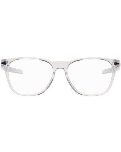 Okulary srebrne Oakley