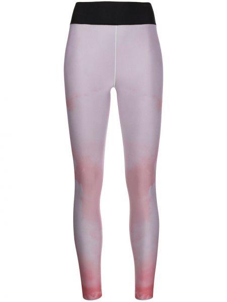 Czarne spodnie z nylonu Ultracor
