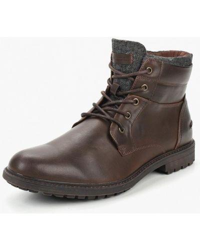 Ботинки осенние кожаные демисезонный Burton Menswear London