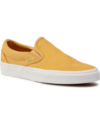 Klasyczny żółty slipony Vans