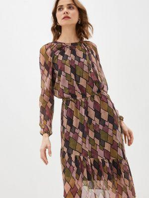 Разноцветное платье Sa.l.ko
