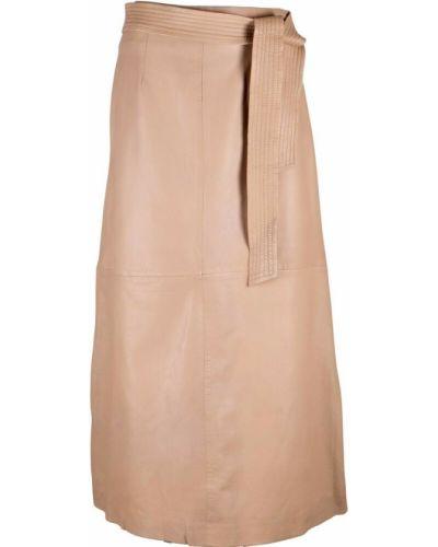 Beżowa spódnica Ibana