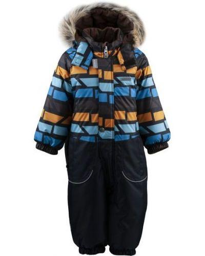 Зимний комбинезон флисовый с капюшоном Kerry