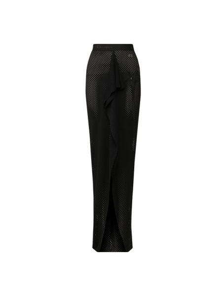 Юбка макси с воланами со шлейфом Rick Owens