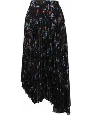 Плиссированная юбка асимметричная Markus Lupfer