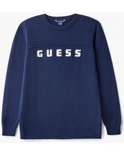 Свитер синий Guess