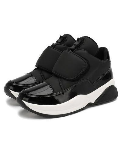 Текстильные ботинки мембранные свободного кроя Jog Dog