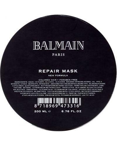 Jedwab maska do włosów przezroczysty Balmain Paris Hair Couture
