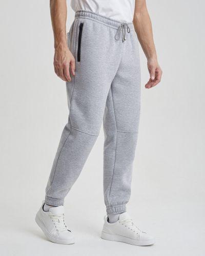 Хлопковые повседневные спортивные брюки с начесом Barmariska