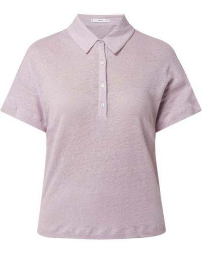 T-shirt - fioletowa Mango