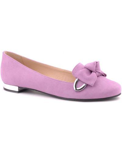 Фиолетовые балетки Werner