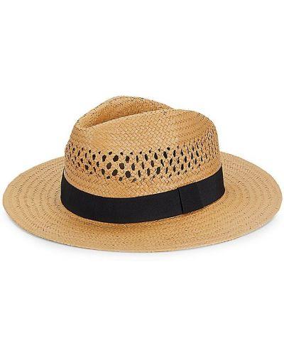 Прямые белые шляпа-федора San Diego Hat Company