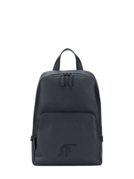 Кожаный рюкзак - черный Salvatore Ferragamo