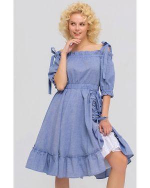 Платье с открытыми плечами Yulia'sway