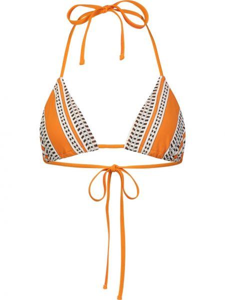 Оранжевые бикини Lemlem