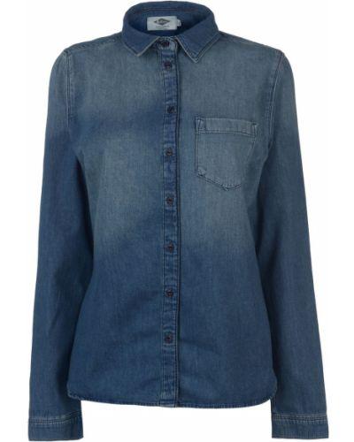 Klasyczna niebieska koszula jeansowa bawełniana Lee Cooper