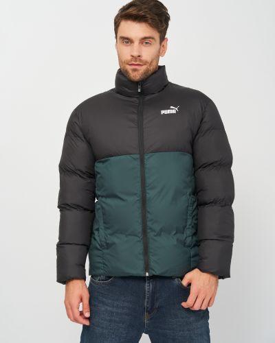 Дутая куртка - зеленая Puma