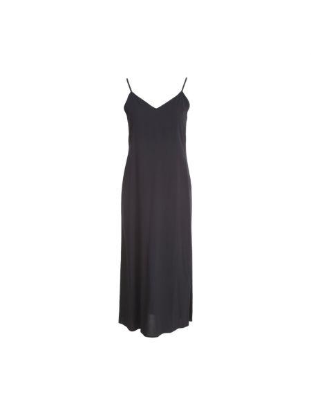 Czarna sukienka długa Liviana Conti