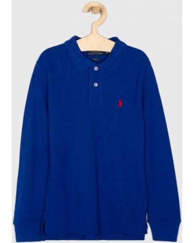T-shirt elastyczny niebieski Polo Ralph Lauren