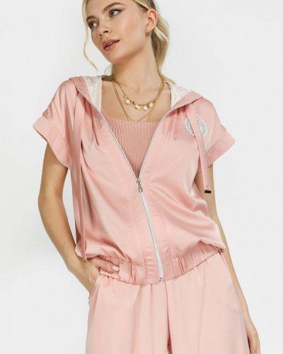 Розовый зимний пиджак Clever Woman Studio