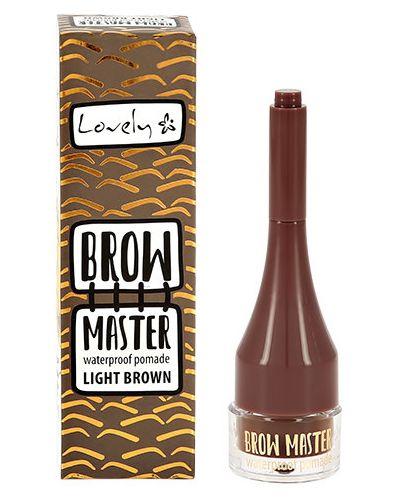 Помада для бровей коричневый Lovely