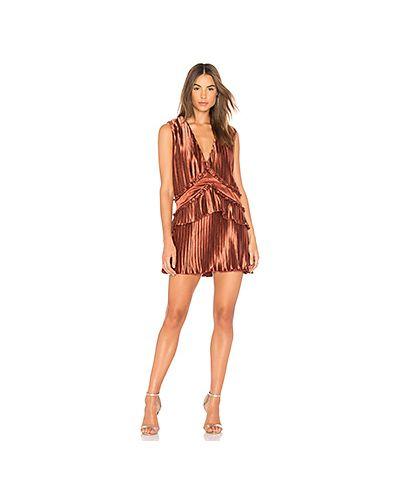 Платье мини со складками с оборками Finders Keepers