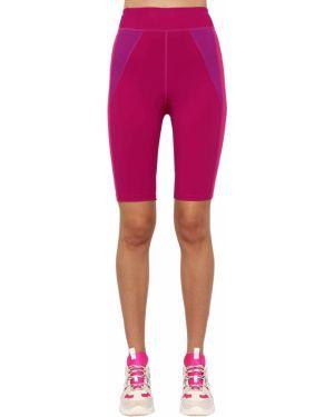 Розовые шорты на резинке байкерские Isabel Marant étoile