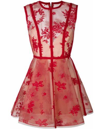 Платье с вырезом приталенное Alex Perry