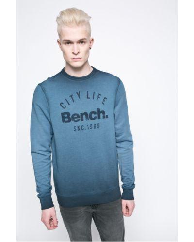 Синяя кофта с капюшоном Bench