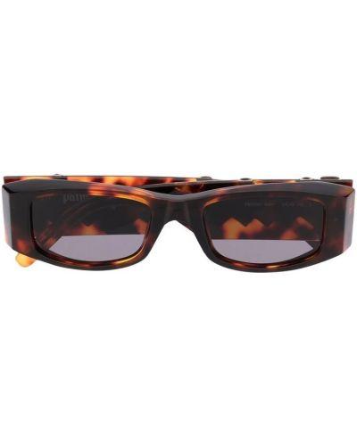 Brązowe okulary Palm Angels