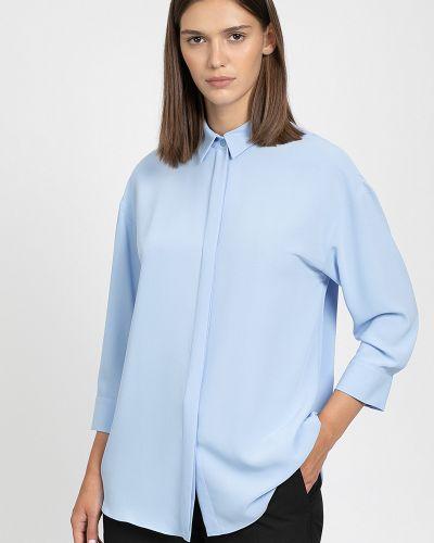 Голубая блузка Vassa&co