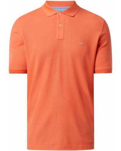 Pomarańczowy t-shirt bawełniany Fynch-hatton