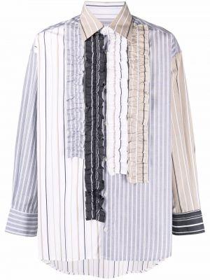 Biała biała koszula zapinane na guziki Viktor & Rolf