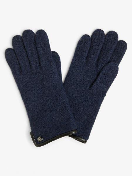 Niebieskie rękawiczki Roeckl