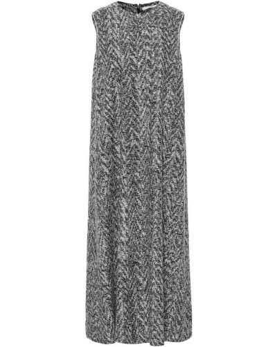 Ватное шерстяное платье миди The Row