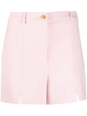 Розовые шорты на пуговицах с разрезом Boutique Moschino