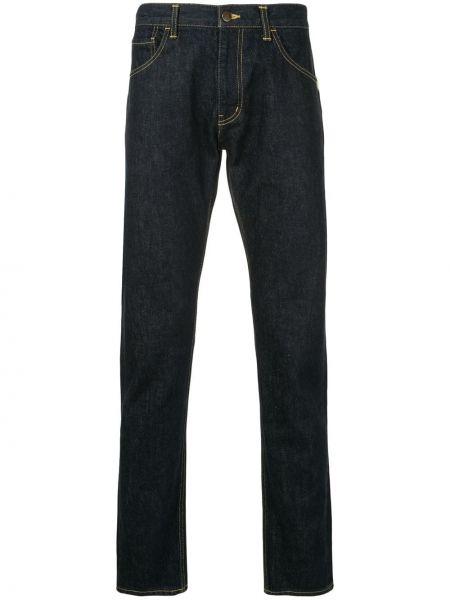 Niebieskie jeansy bawełniane Facetasm