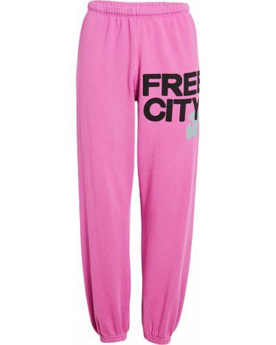 Joggery - różowe Freecity