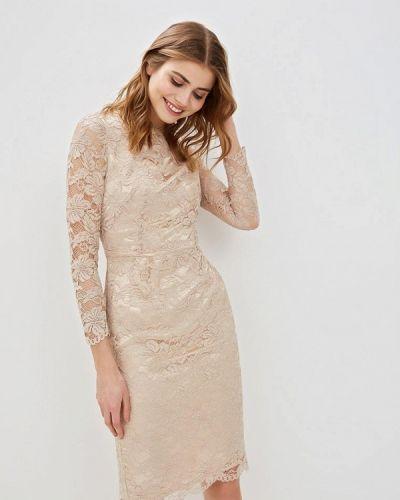 Вечернее платье весеннее бежевое Madam T