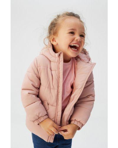 Куртка розовый декоративный Mango Kids