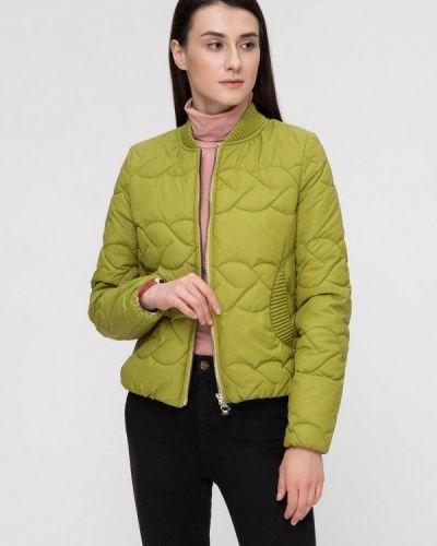 Утепленная куртка демисезонная весенняя Victoria Bloom