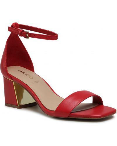Czerwone sandały Aldo